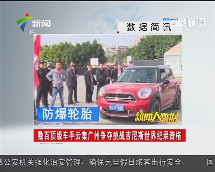 数百顶级车手云集广州争夺挑战吉尼斯世界纪录资格
