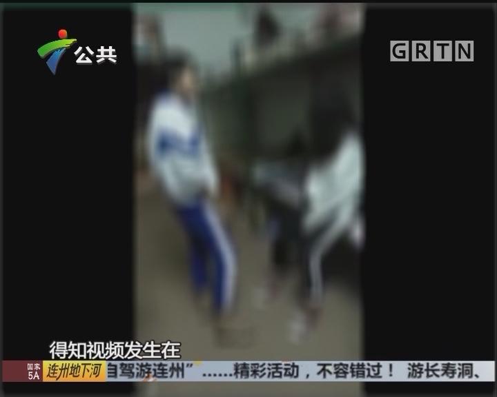 阳江:学生宿舍遭欺负 扯头发扇脸数分钟