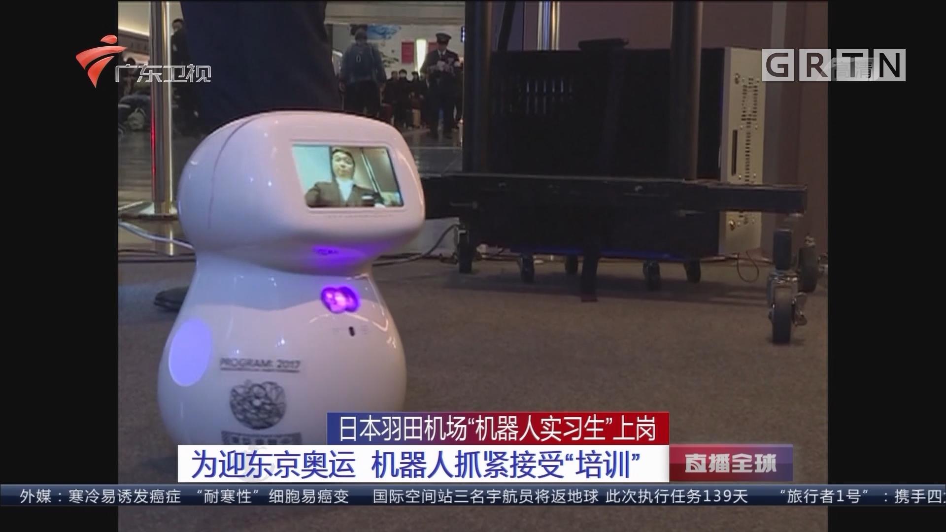 """日本羽田机场""""机器人实习生""""上岗:为迎东京奥运 机器人抓紧接受""""培训"""""""