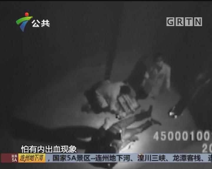 顺德:男子坠落深井 消防巧妙救援
