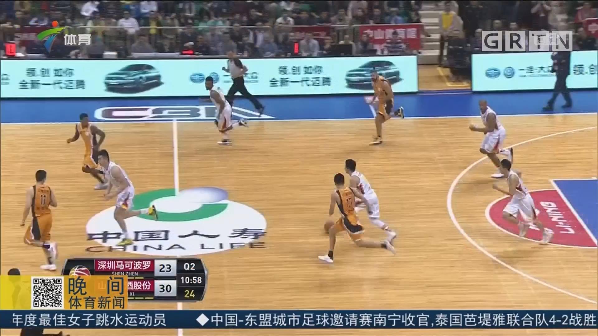 主场胜山西 深圳迎来三连胜