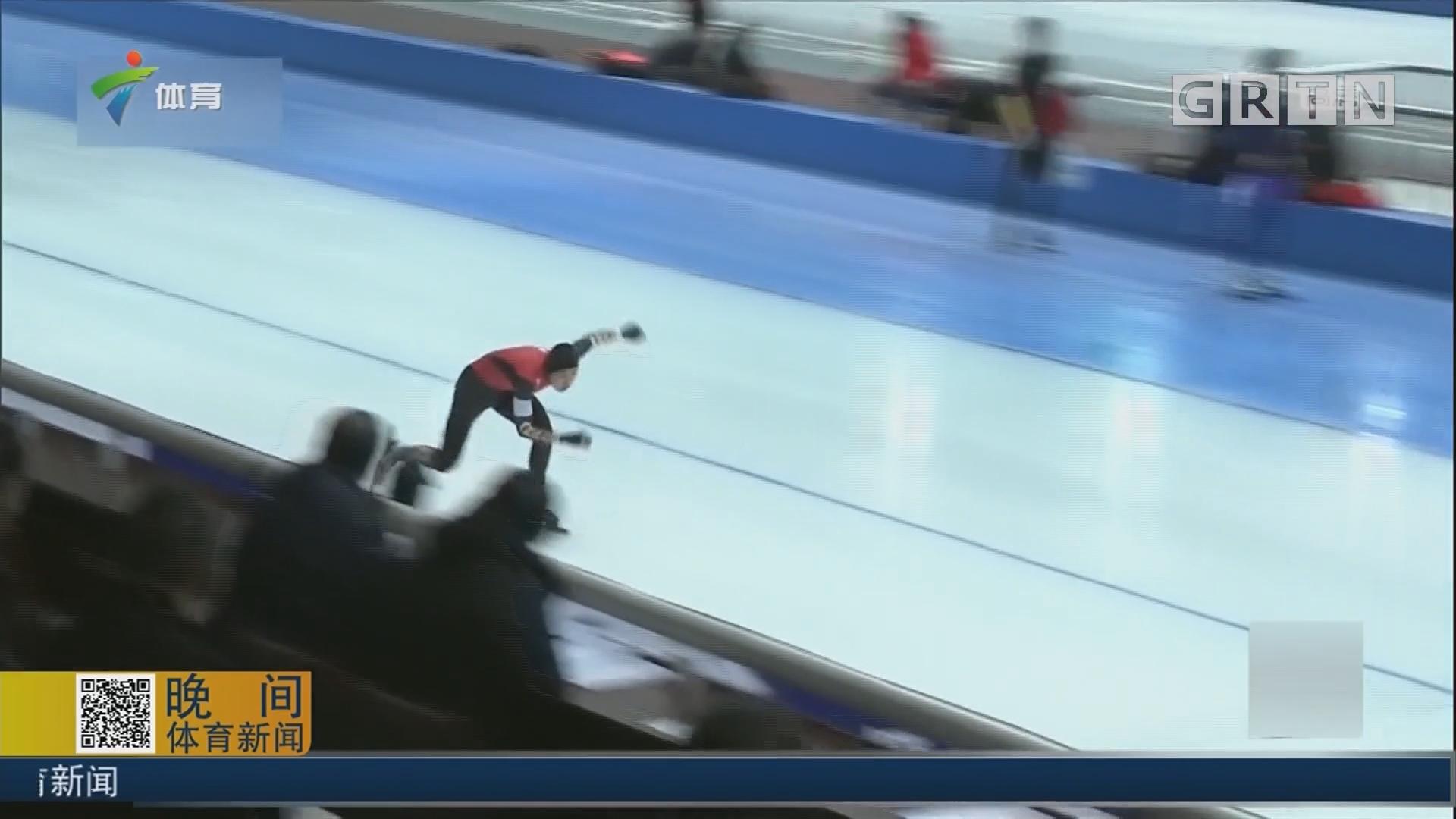 全国速滑冠军赛 国家队成员表现突出