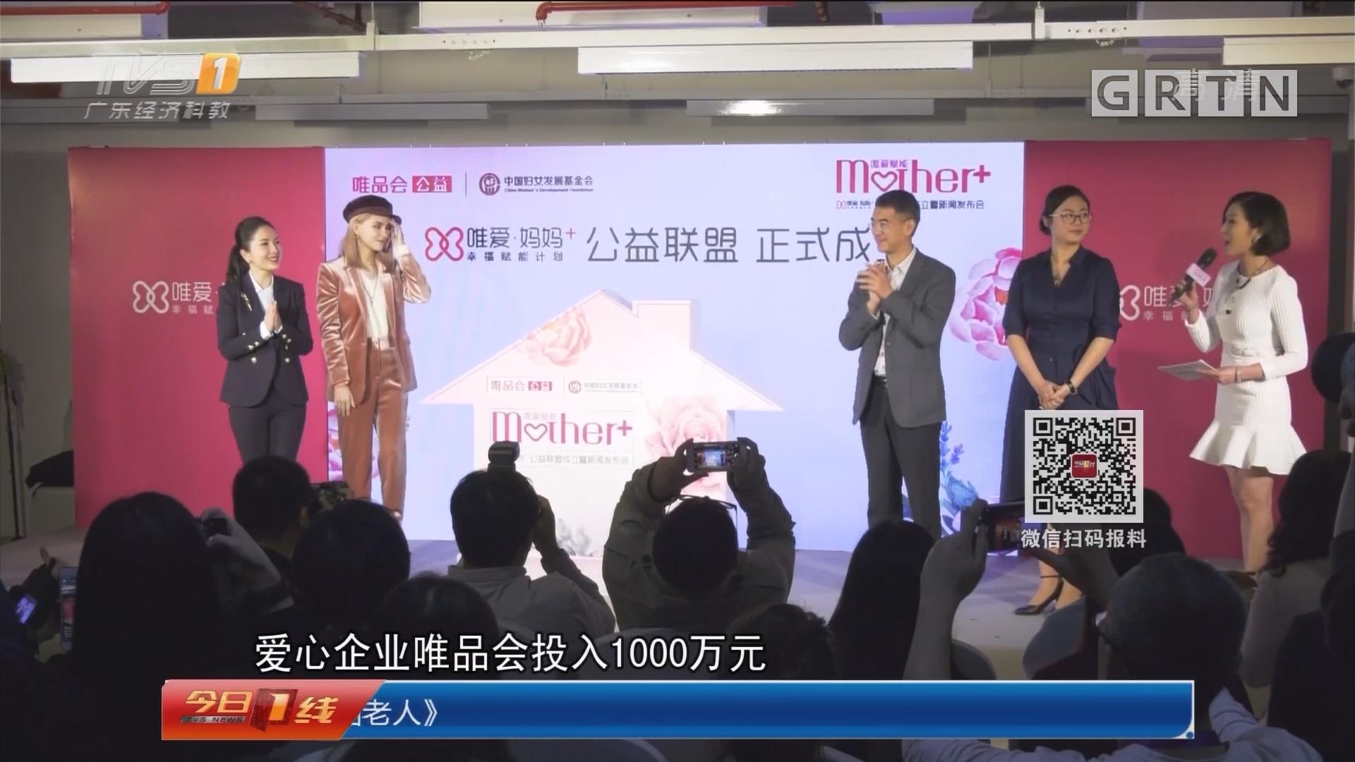 广州:公益联盟成立 帮助单亲妈妈