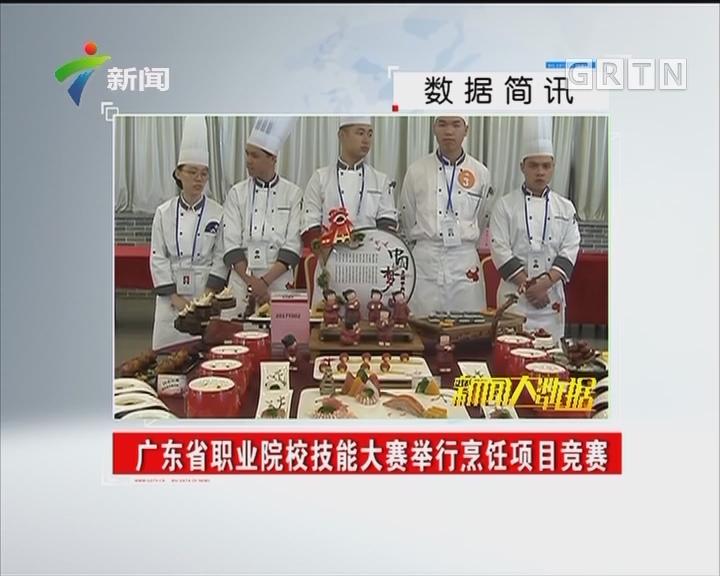 广东省职业院校技能大赛举行烹饪项目竞赛
