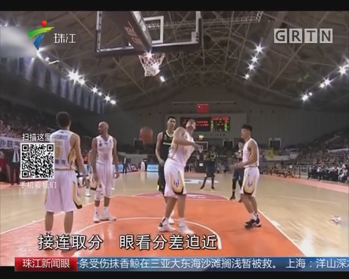 CBA:马布里发挥出色 北控险胜广东