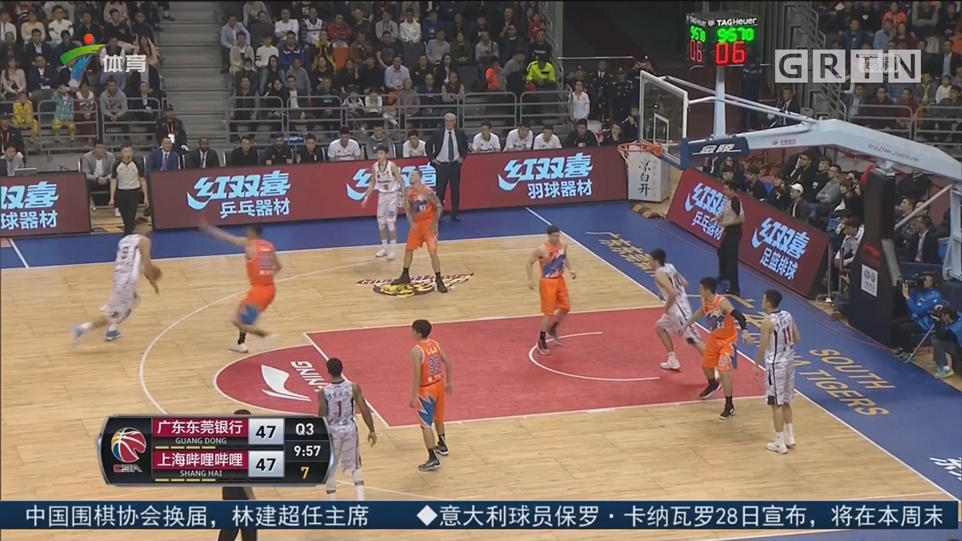 广东体育频道篮球评述员 陈阳:广东 vs 上海