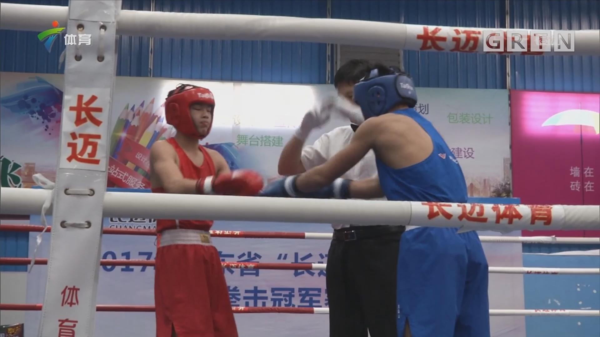 广东省青少年拳击冠军赛落幕 肇庆队夺得团体冠军