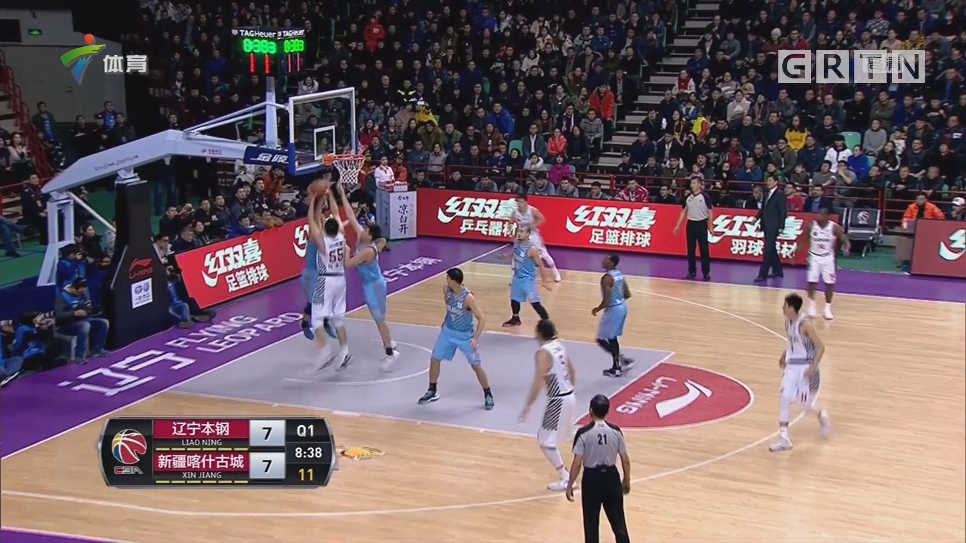 辽宁6人得分上双 赛季双杀新疆