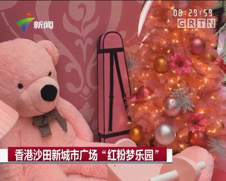 """香港沙田新城市广场""""红粉梦乐园"""""""