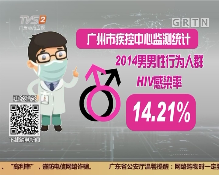 防范艾滋病:广州已有32所大学报告艾滋疫情
