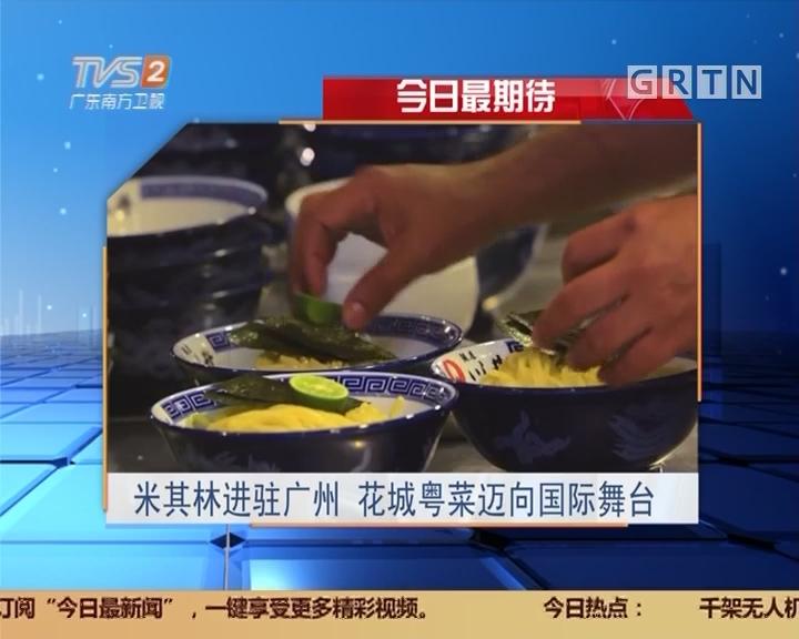 今日最期待:米其林进驻广州 花城粤菜迈向国际舞台