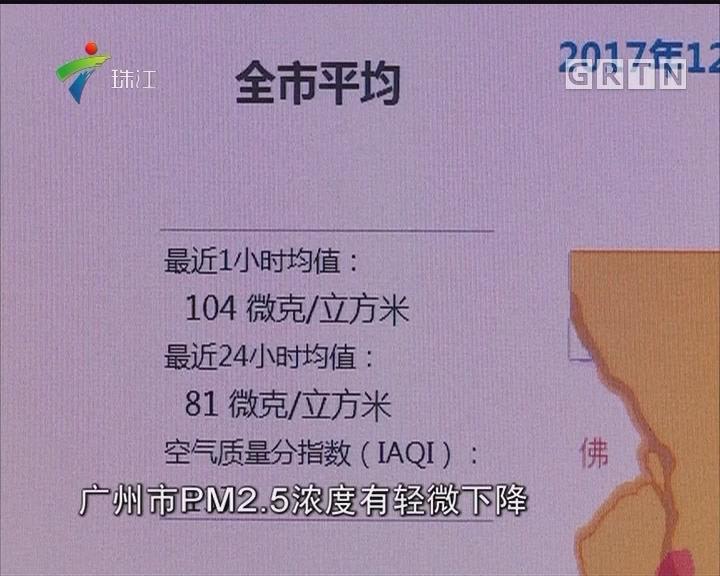 今日空气轻度污染 PM2.5再作祟