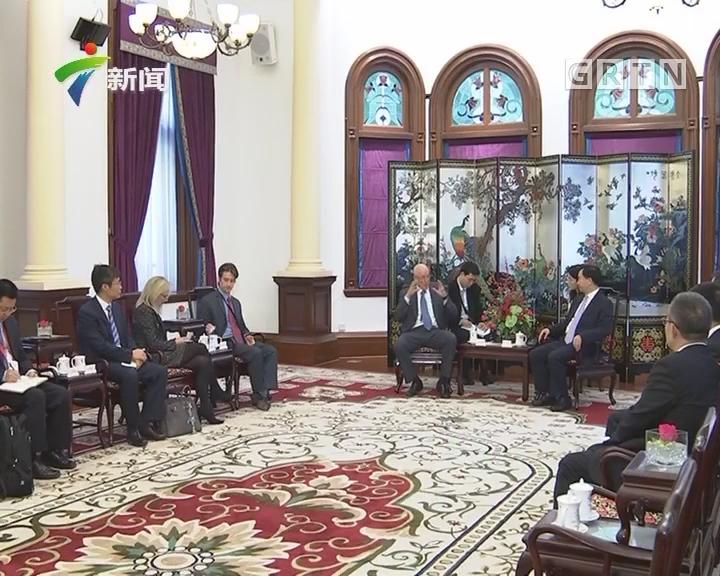 李希会见出席2017广州《财富》全球论坛部分嘉宾