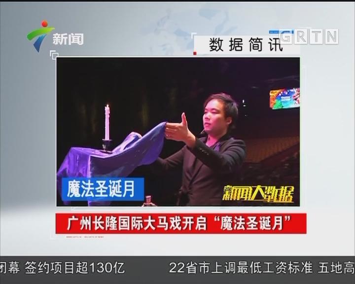 """广州长隆国际大马戏开启""""魔法圣诞月"""""""