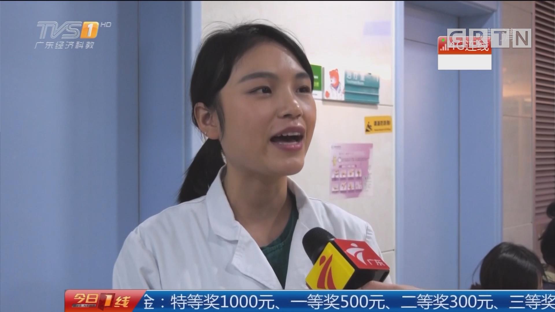 直播连线:寒冬夜的儿科医院 感冒发烧患儿夜间急诊量大增