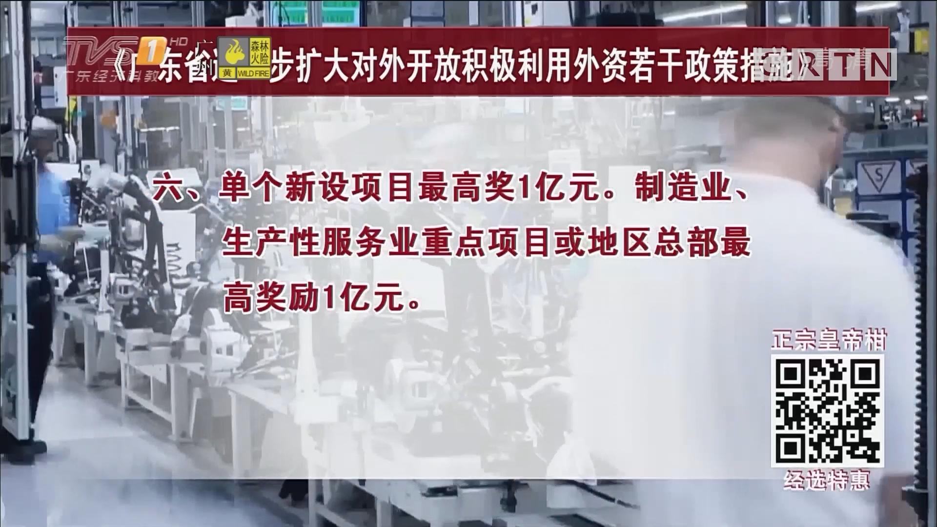 """""""外资十条"""":开放三成外商投资产业准入限制"""