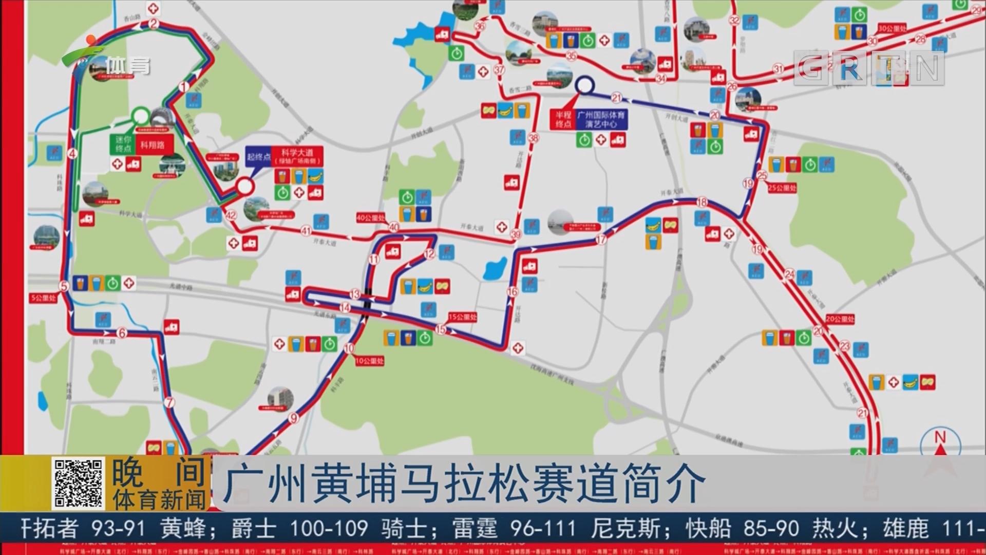 广州黄埔马拉松赛道简介