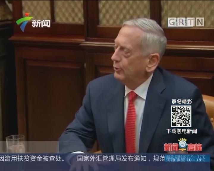 美国防长:外交仍是解决朝核问题主要途径