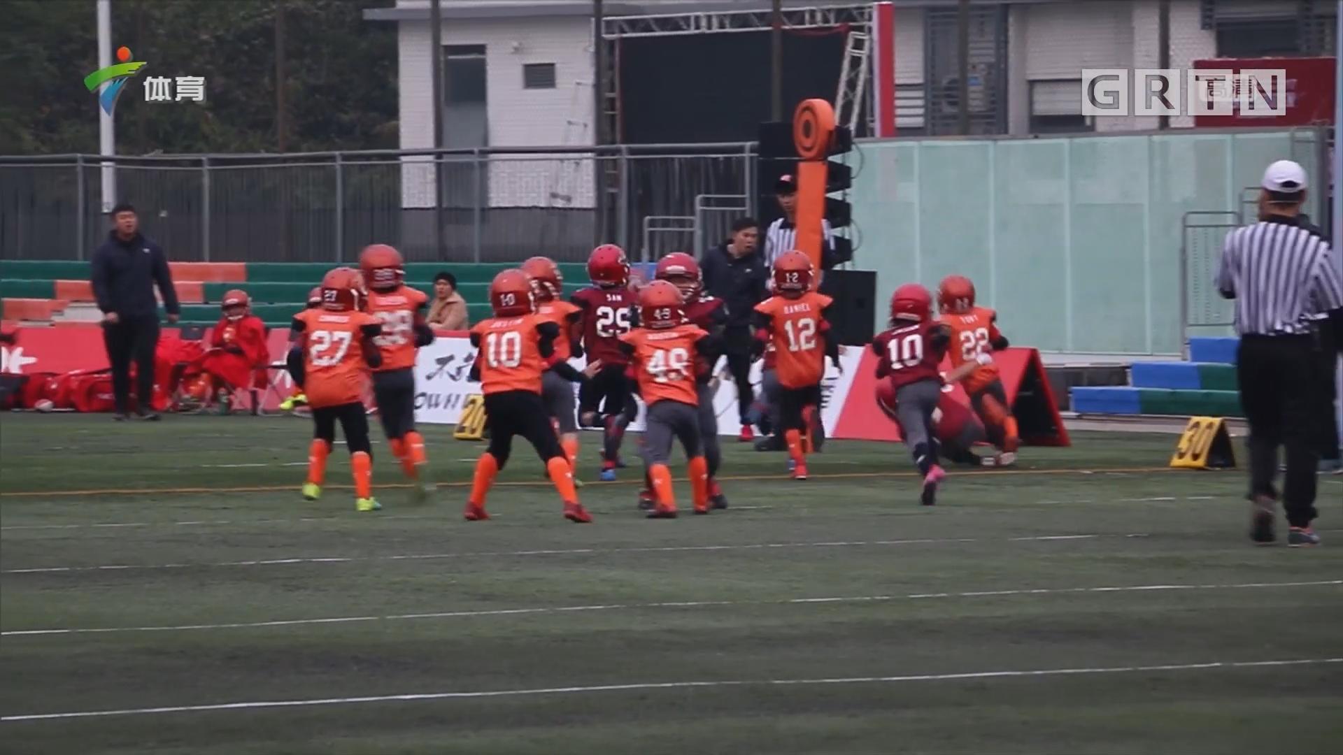 积极勇敢 橄榄球助青少年健康发展