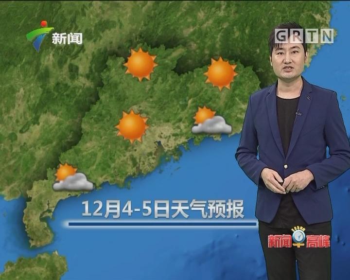 20171203天气预报