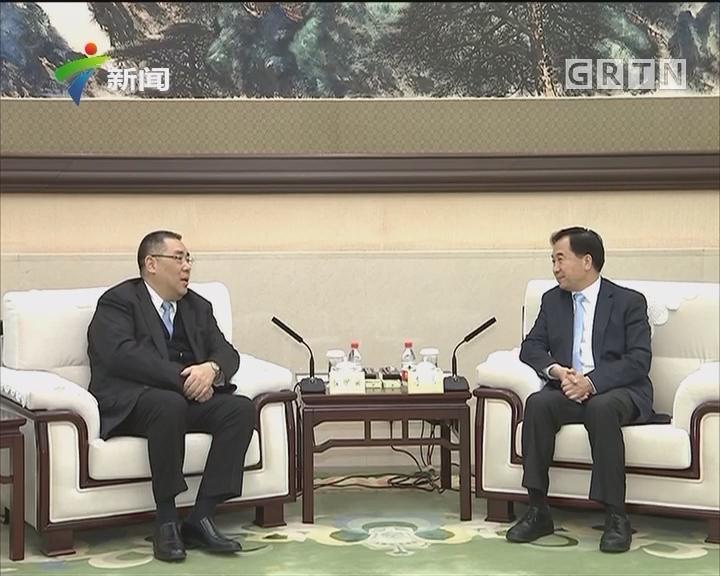 粤澳合作联席会议在广州召开 李希马兴瑞会见崔世安