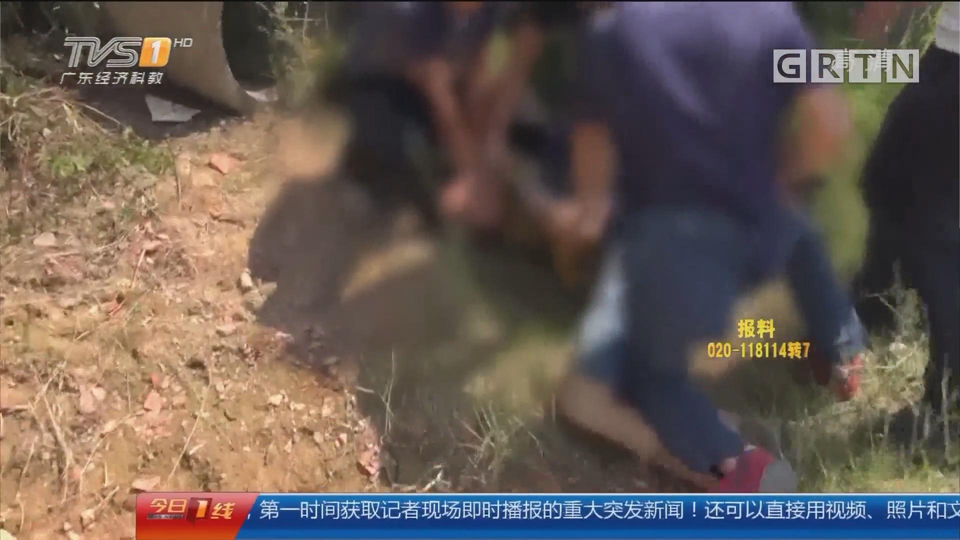 汕尾警方通报陆丰禁毒重点整治情况:警方鸣枪抓捕毒犯 缴获制毒原料1.45吨