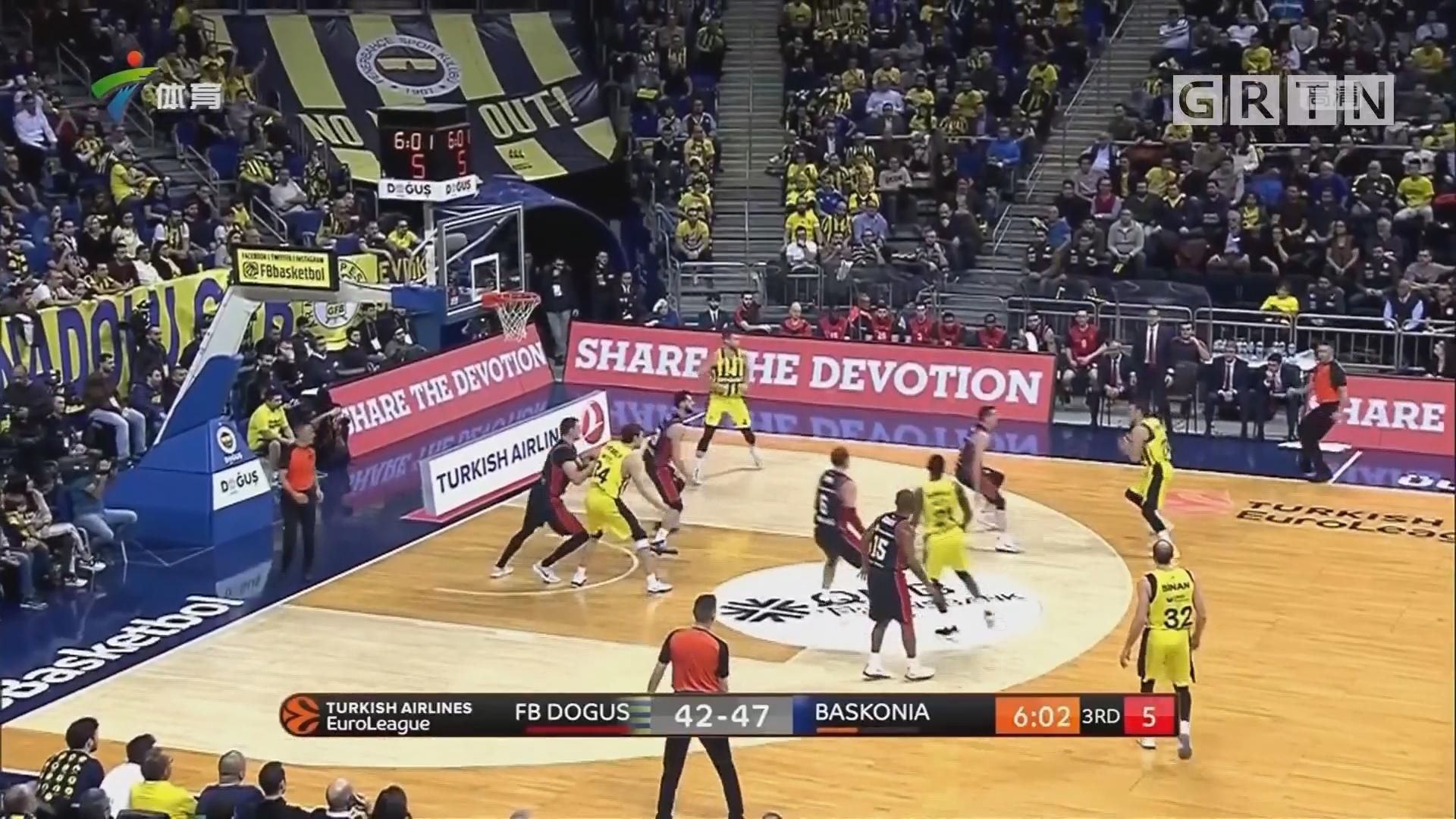 欧冠篮球 奥林匹亚科斯大胜 排名并列榜首
