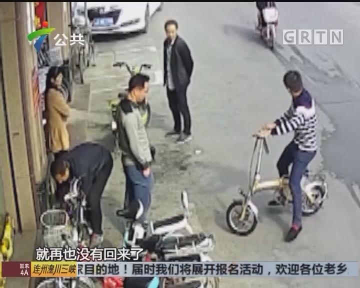 试车结果一去不返 街坊商户要小心