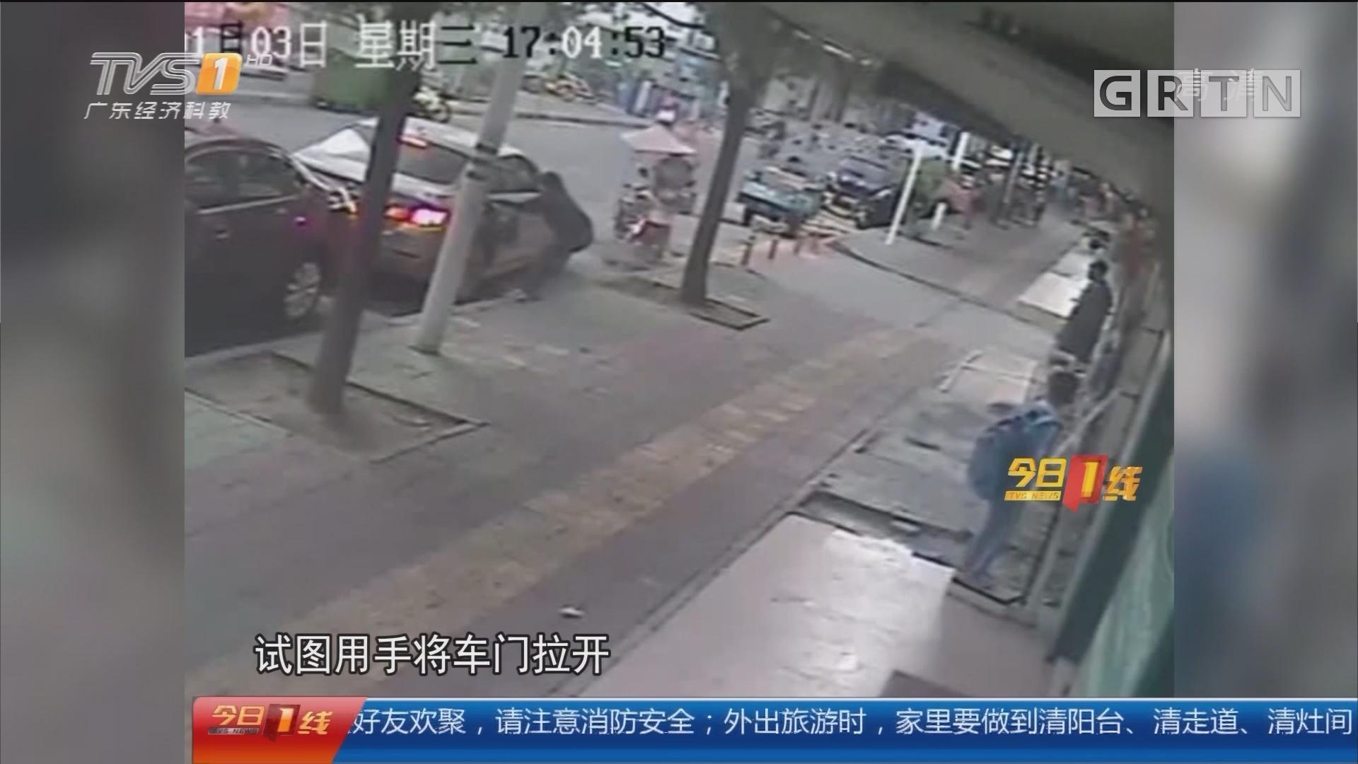 深圳宝安:神秘男当街抢娃 身份之谜被揭开