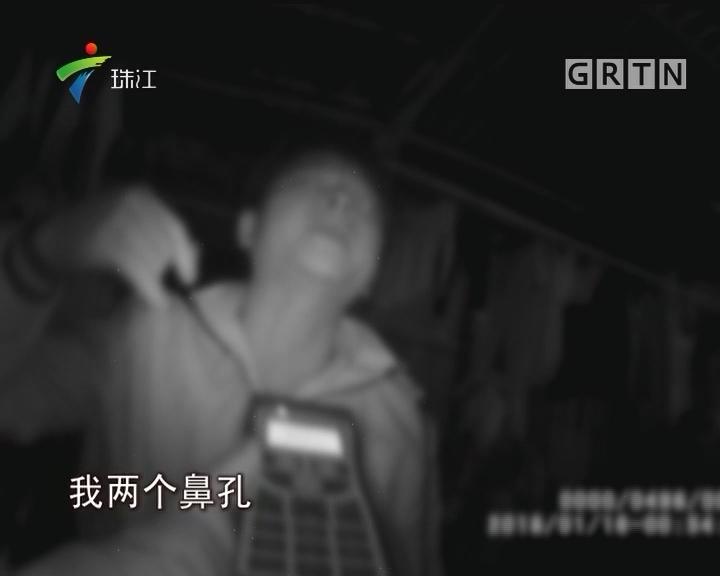 男子酒后无证驾驶还耍酒疯 被警方刑拘