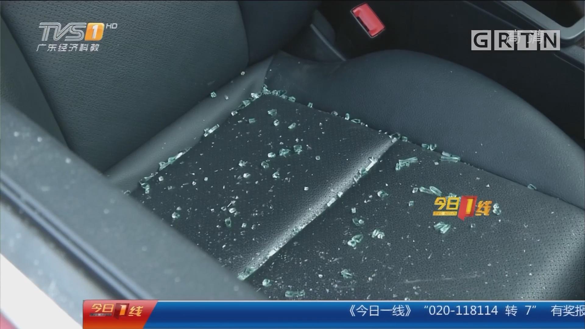 东莞塘厦:十几辆小车被砸 豪车首当其冲