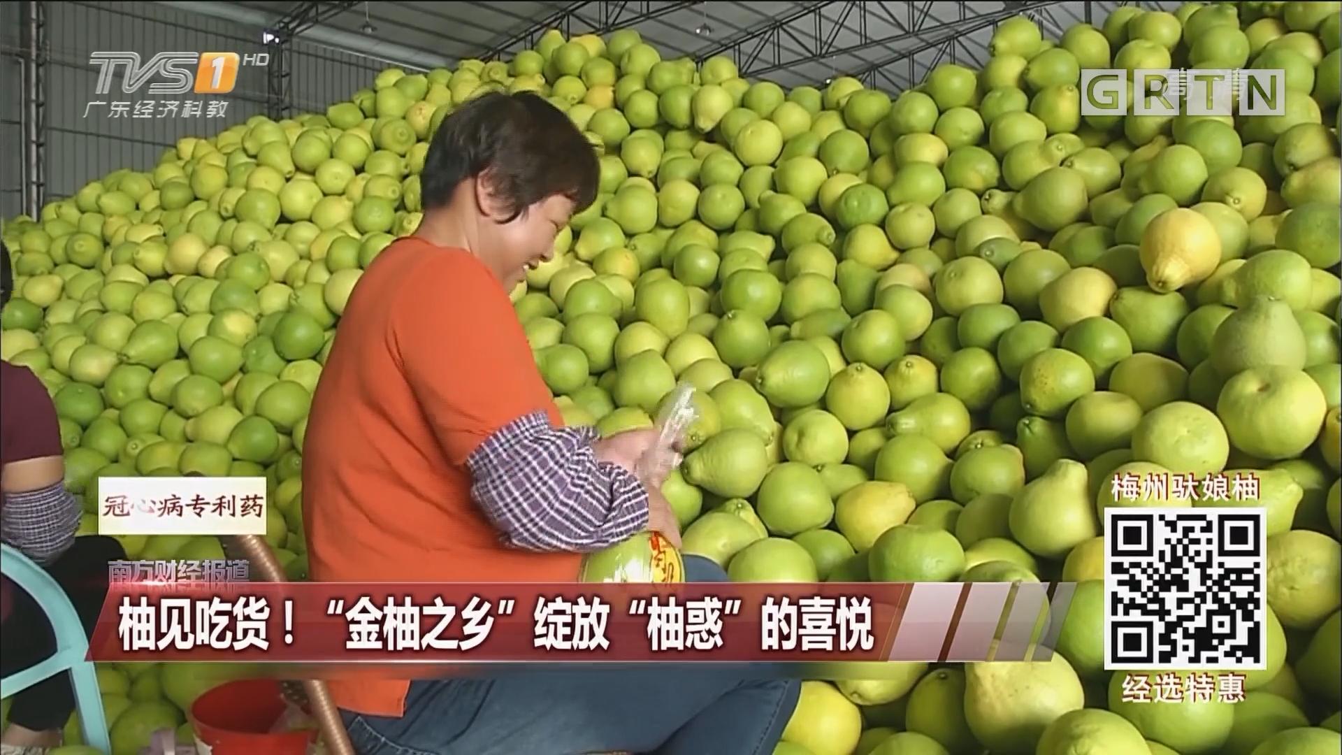 """柚见吃货!""""金柚之乡""""绽放""""柚惑""""的喜悦"""