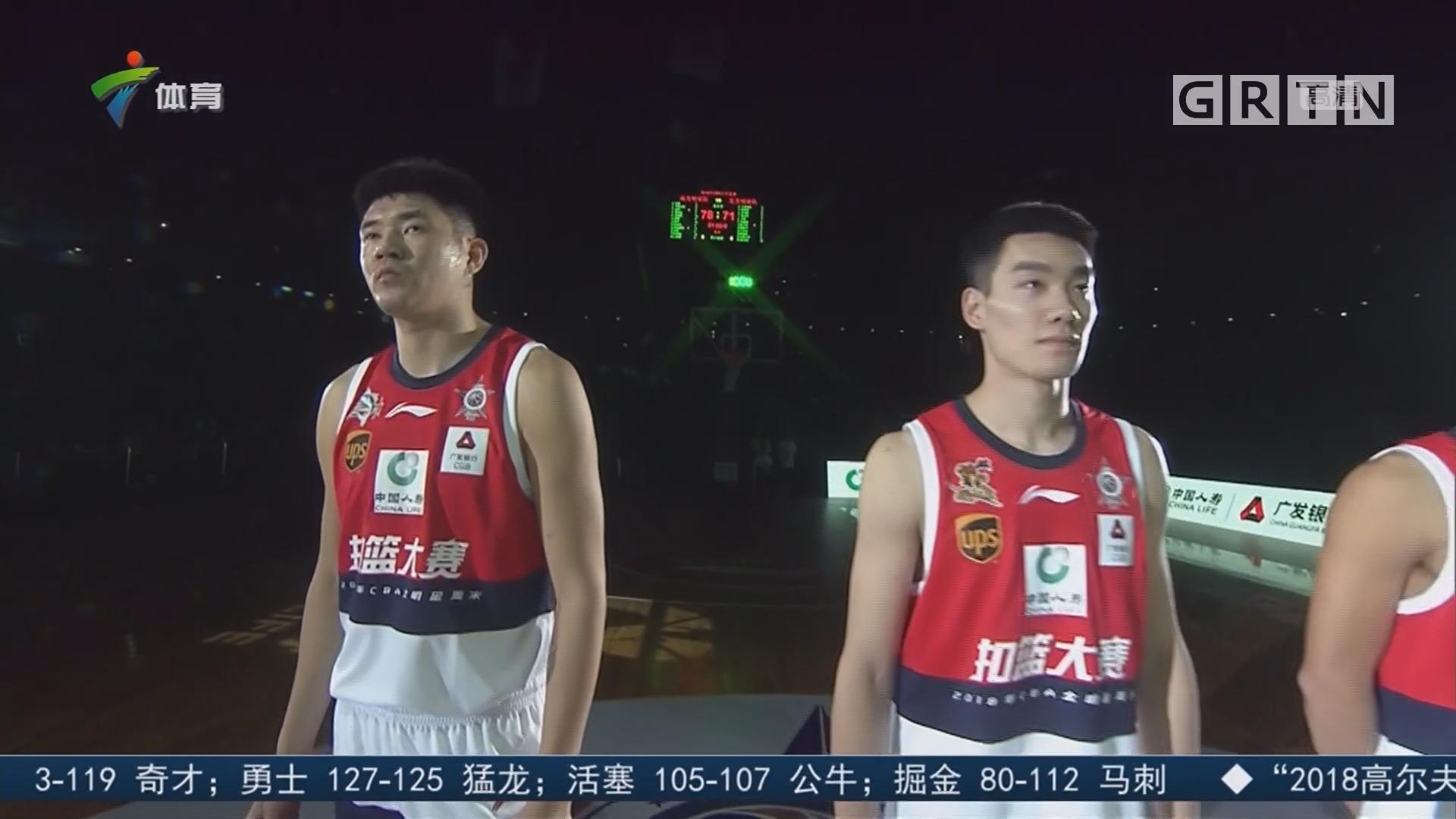 广工选手张建豪荣膺扣篮王