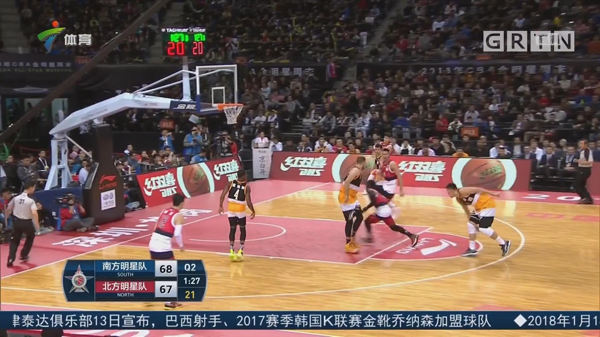 广东体育频道篮球评论员陈阳解说:全明星赛