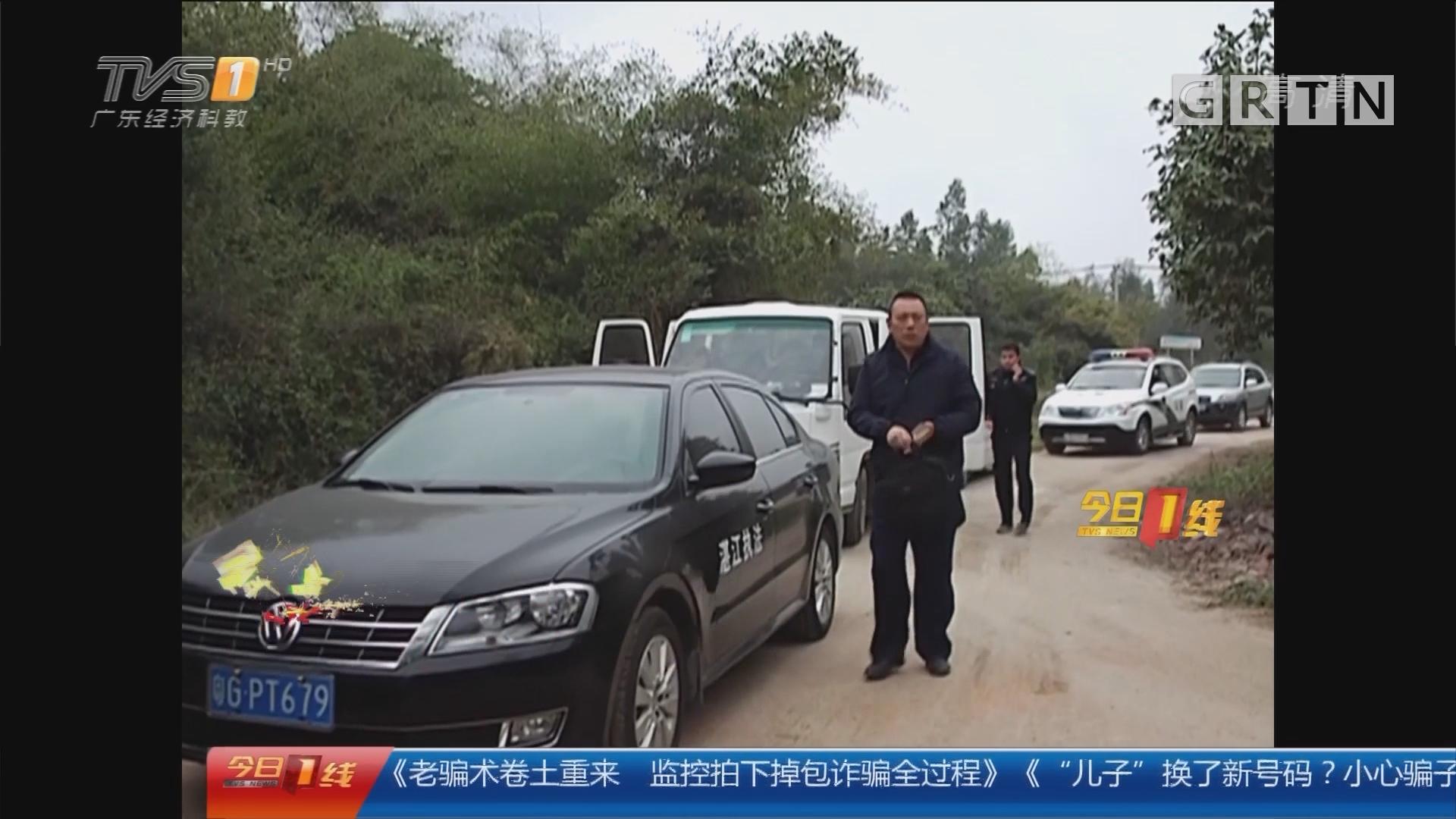 湛江:非法加油站藏村中 多部门联合查处