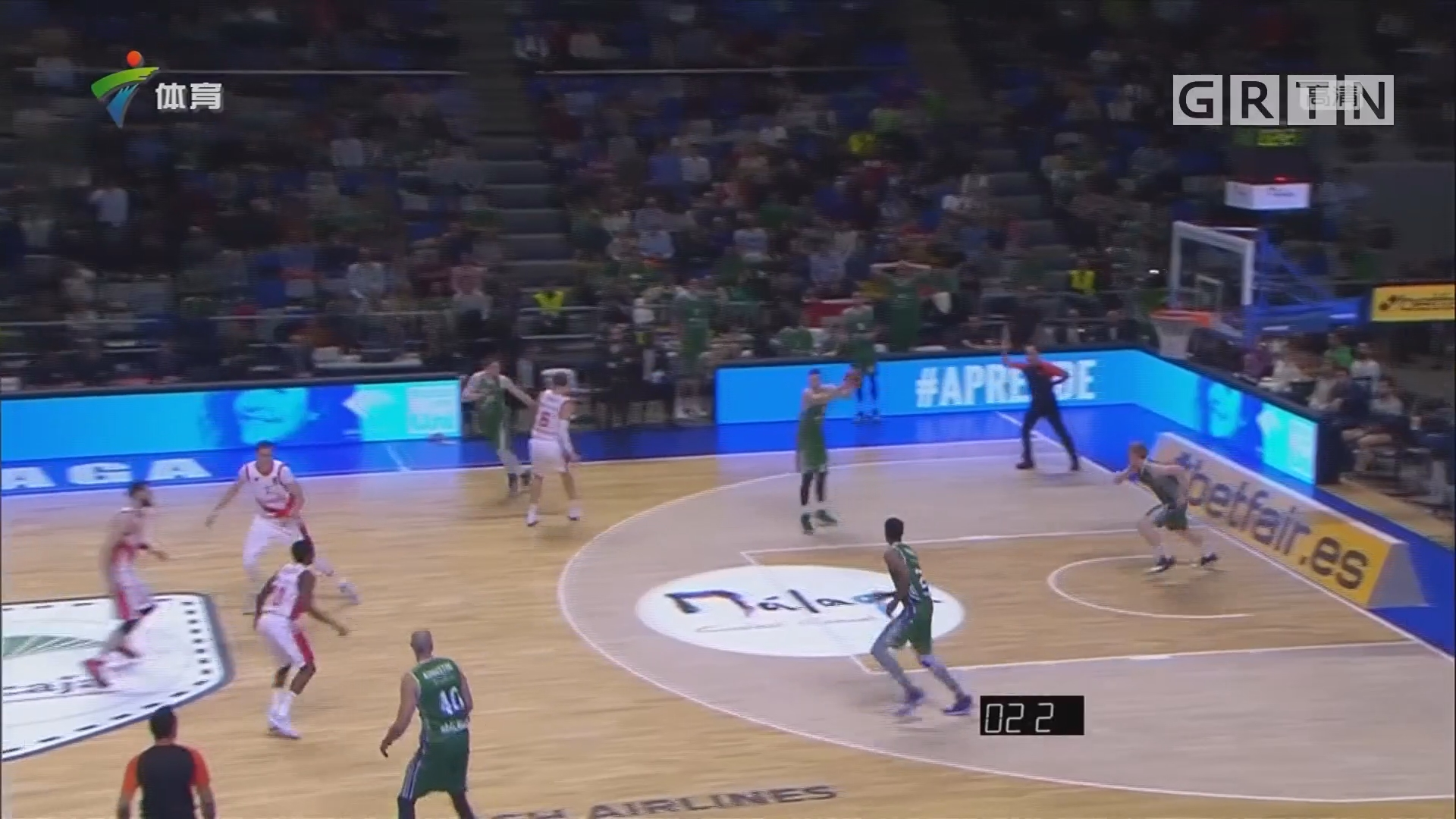 欧篮联赛 帕纳辛奈科斯加时险胜萨拉基利斯