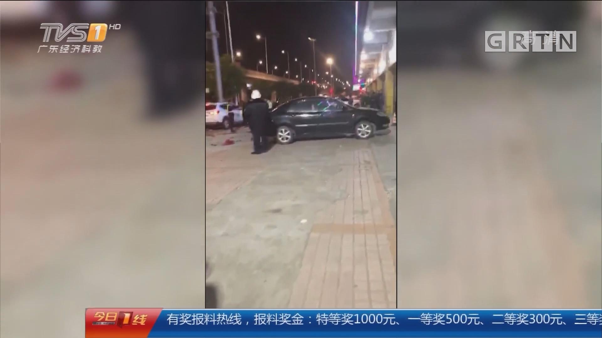 东莞寮步 警方通报:小车失控撞路人致3死