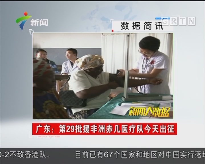 广东:第29批援非洲赤几医疗队今天出征