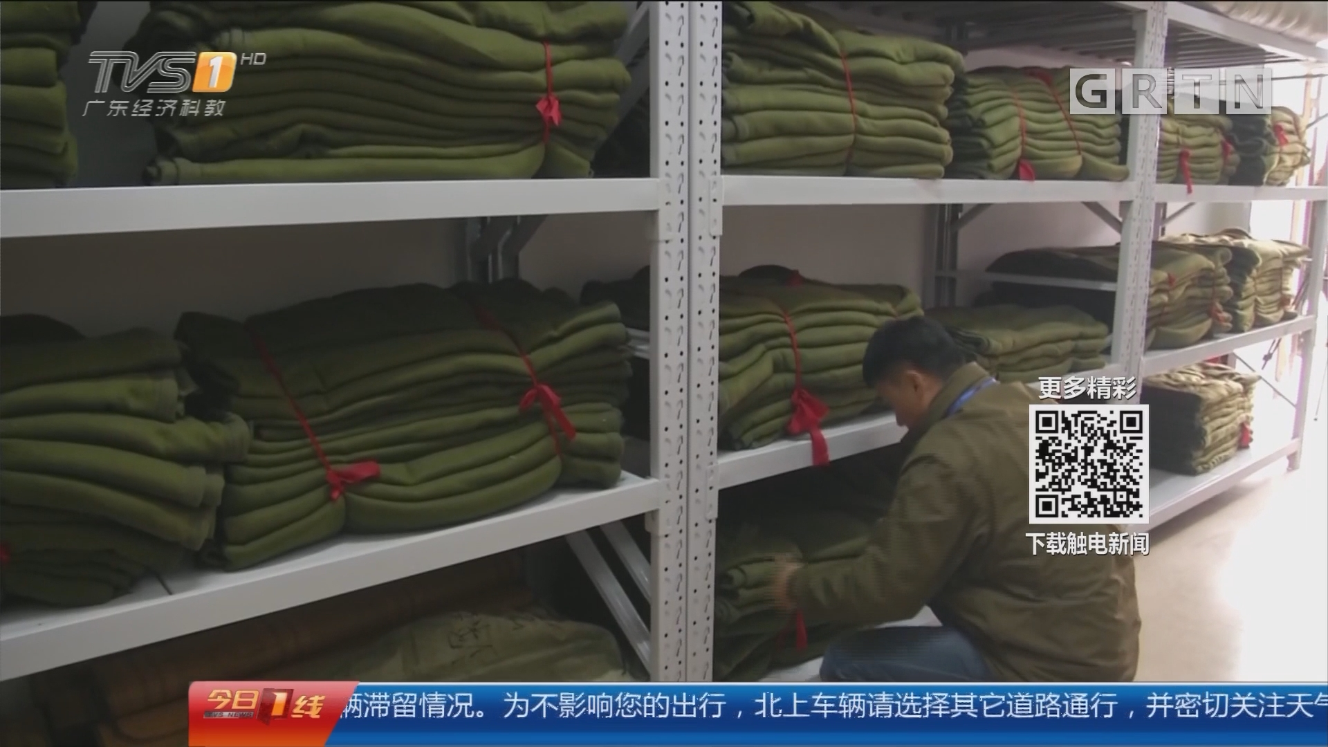 深圳:气温骤降 救助站避寒人员增多