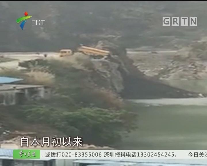 南沙:泥头车湖边偷倒余泥垃圾 城管当场查扣