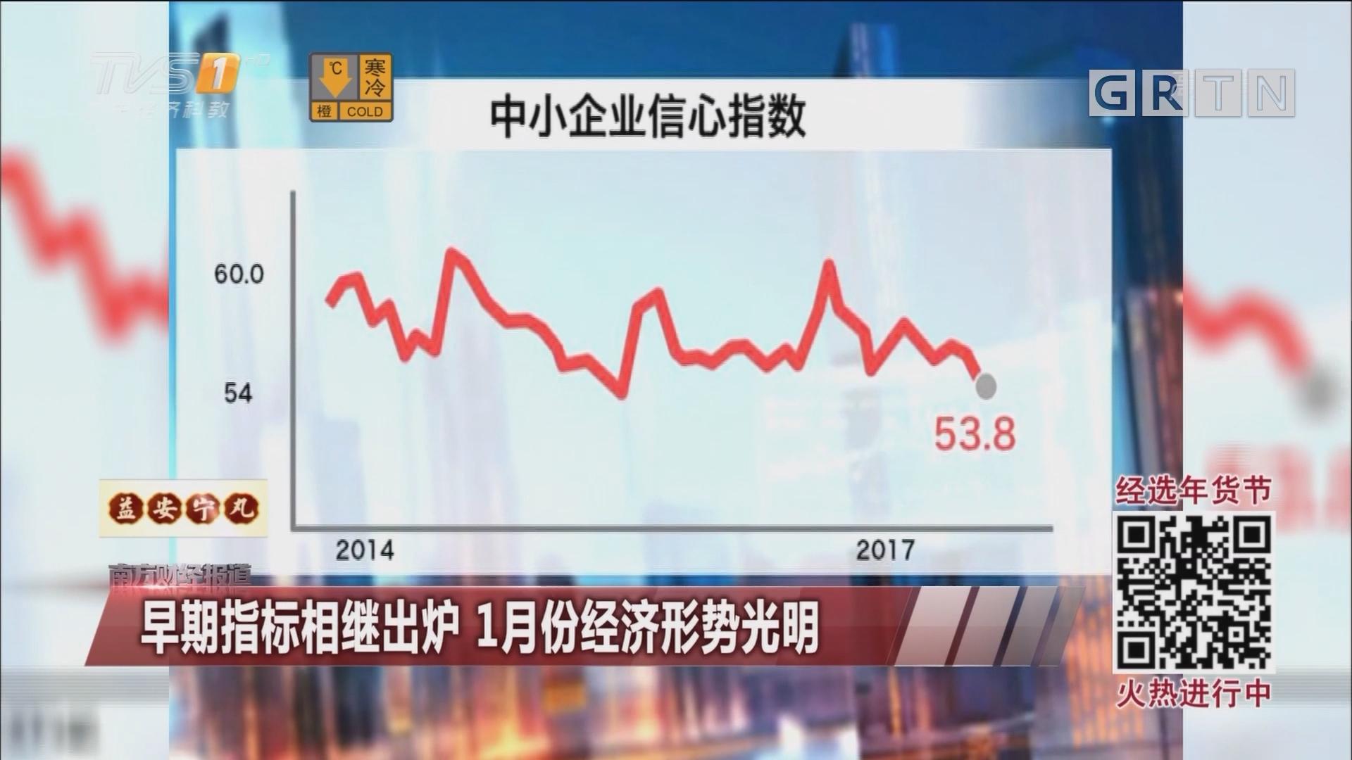 早期指标相继出炉 1月份经济形势光明