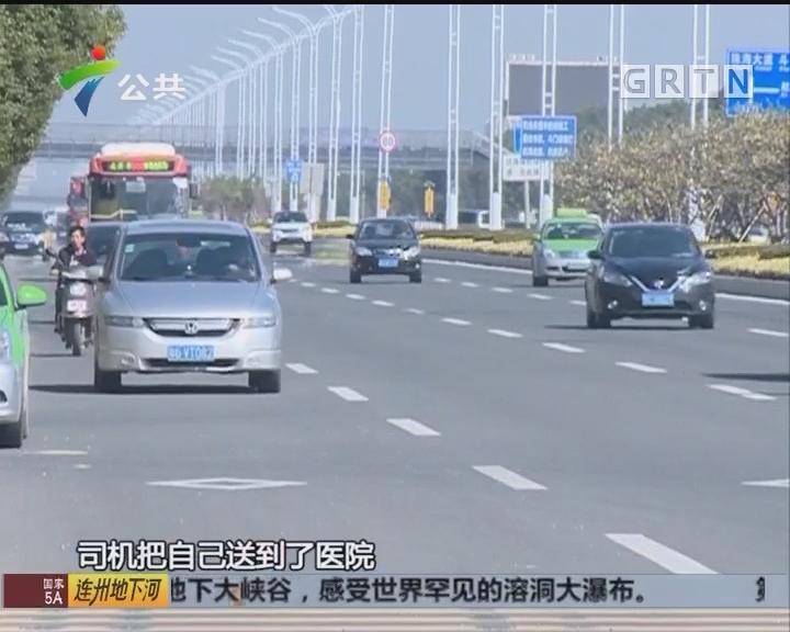 珠海:学生过马路被撞 司机十二小时后自首