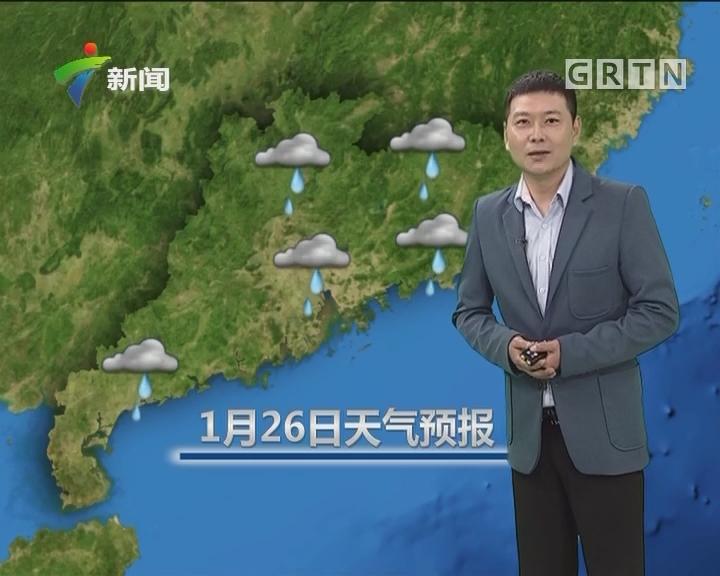 20180126天气预报