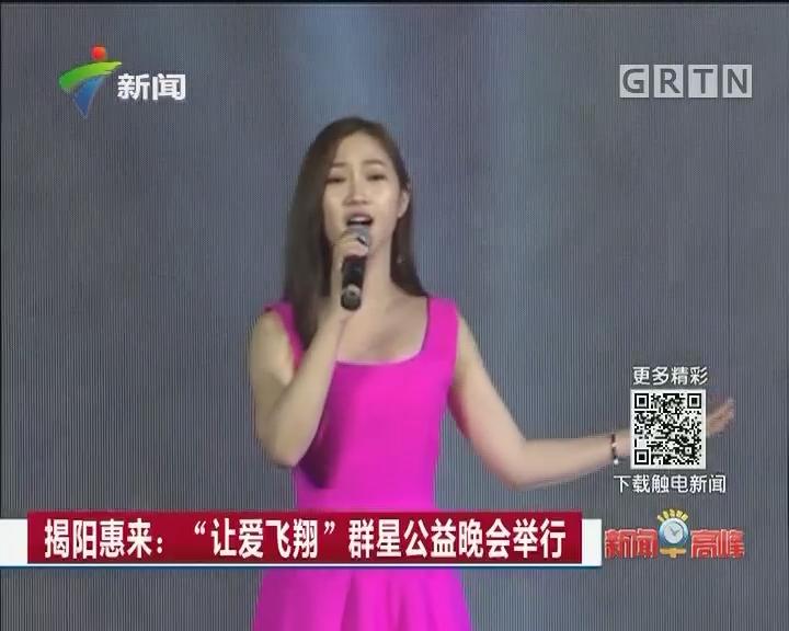 """揭阳惠来:""""让爱飞翔""""群星公益晚会举行"""
