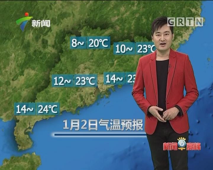 20180102天气预报