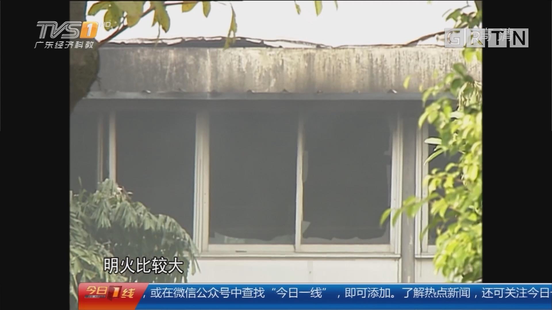 佛山顺德:工厂清晨起火烧足4小时 无人员伤亡