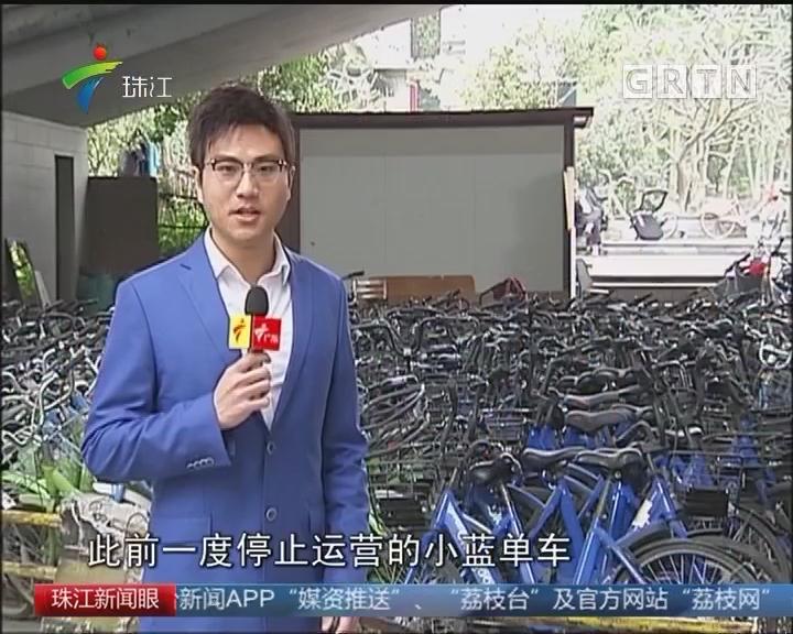 广州交委再发声明:滴滴托管小蓝单车属违规