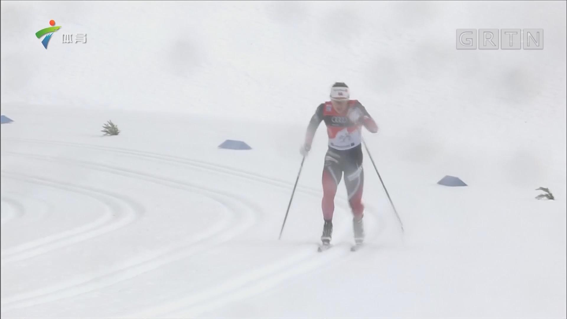 越野滑雪世界杯遭大风袭击