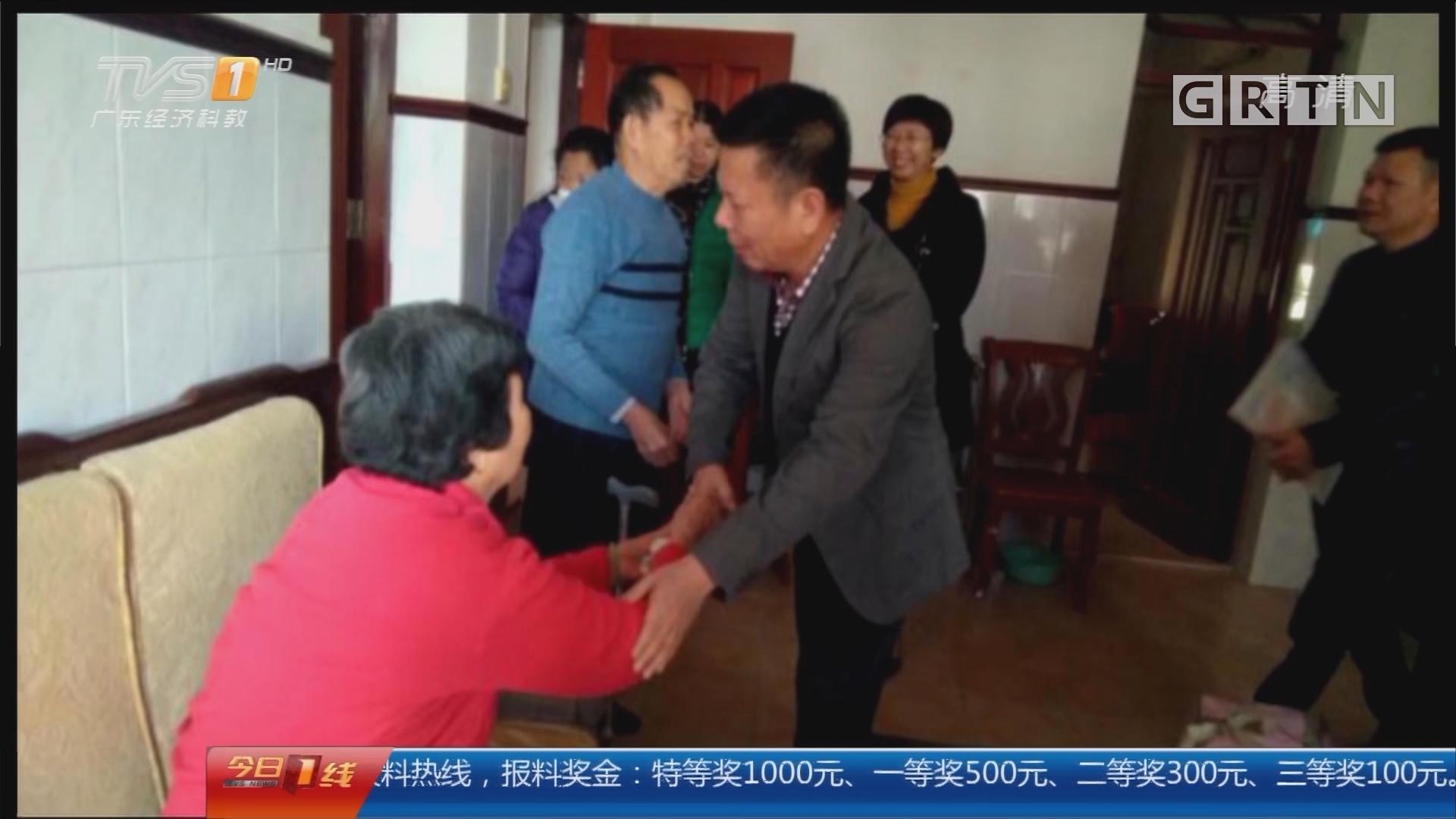"""关注寒潮:汕尾 """"寒冬送温暖"""" 受助人员约726人次"""