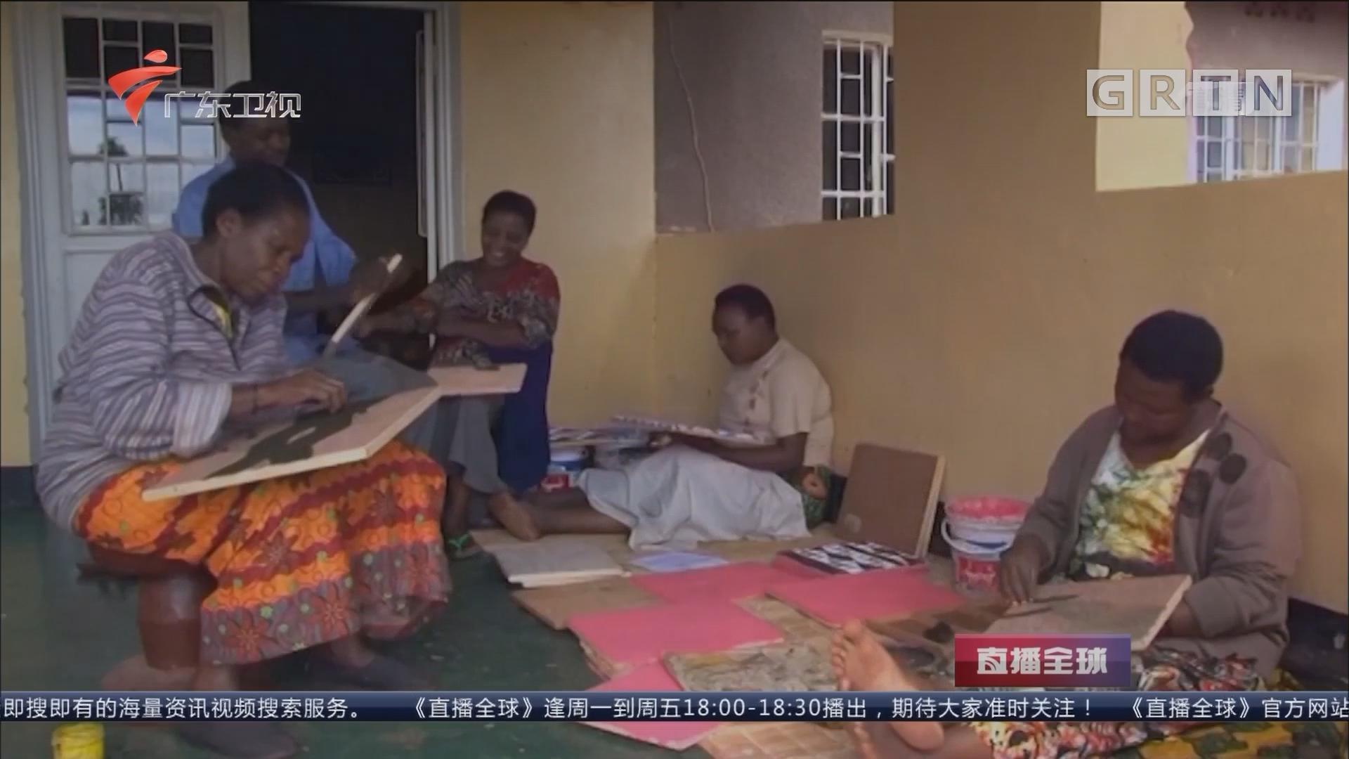 牛粪画助卢旺达妇女脱贫致富:传统作画方式成为救命技能
